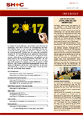 Abbildung Cover Infobrief Januar 2017 - SH+C Wirtschaftsprüfer, Steuerberater München