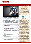 Abbildung Cover Infobrief Februar 2018 - SH+C Wirtschaftsprüfer, Steuerberater München