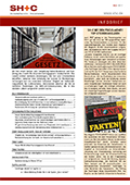 Abbildung Cover Infobrief Mai 2017 - SH+C Wirtschaftsprüfer, Steuerberater München
