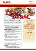 Abbildung Cover Infobrief Dezember 2017 - SH+C Wirtschaftsprüfer, Steuerberater München