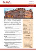 Abbildung Cover Infobrief November 2018 - SH+C Wirtschaftsprüfer, Steuerberater München